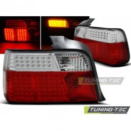 LED FEUX ARRIERE RED WHITE fits BMW E36 12.90-08.99 SEDAN, Serie 3 E36 Berline/Compact