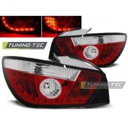 LED FEUX ARRIERE RED WHITE fits SEAT IBIZA 6J 3D 06.08-, Ibiza 6J 08-17
