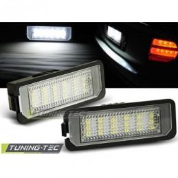 LICENSE LED LIGHTS fits VW GOLF IV GOLF V PASSAT B6 PASSAT EOS PHATEON NEW BEETLE 06-  LUPO 99-06 POLO 9N3, Golf 5