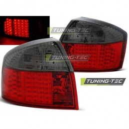 LED FEUX ARRIERE RED SMOKE fits AUDI A4 10.00-10.04, A4 B6 00-05