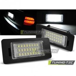 LICENSE LED LIGHTS fits AUDI Q5 / A4 08-10 / A5 / TT / VW PASSAT B6 with CANBUS, A4 B8 08-11