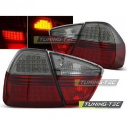 LED FEUX ARRIERE RED SMOKE fitsBMW E90 03.05-08.08, Serie 3 E90/E91