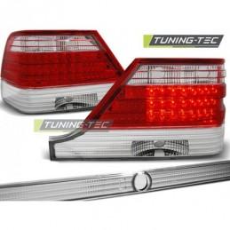 LED FEUX ARRIERE RED WHITE fits MERCEDES W140 95-10.98, Classe S w126/W140