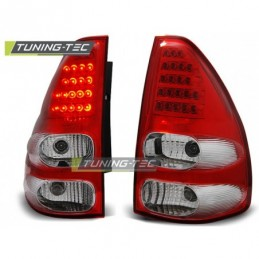 TOYOTA LAND CRUISER 120 03-09 RED WHITE LED, Land Cruiser