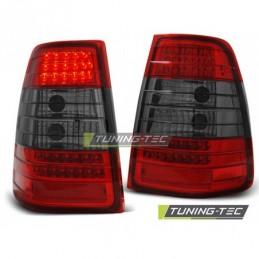 LED FEUX ARRIERE RED SMOKE fits MERCEDES W124 E-KLASA KOMBI 09.85-95, Classe E W124