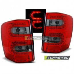 CHRYSLER JEEP GRAND CHEROKEE 99-05.05 RED SMOKE LED, Eclairage Jeep