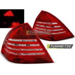 LED FEUX ARRIERE RED WHITE fits MERCEDES C-KLASA W203 SEDAN 00-04, Classe C W203