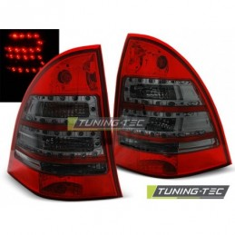 LED FEUX ARRIERE RED SMOKE fits MERCEDES C-KLASA W203 KOMBI 00-07, Classe C W203