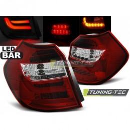 LED BAR FEUX ARRIERE RED WHIE fits BMW E87/E81 04-08.07, Serie 1 E81/E87
