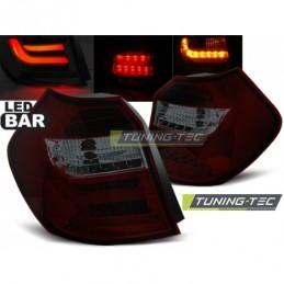 LED BAR FEUX ARRIERE RED SMOKE fits BMW E87/E81 04-08.07, Serie 1 E81/E87