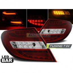 LED BAR FEUX ARRIERE RED WHIE fits MERCEDES C-KLASA W204 SEDAN 07-10, Classe C W204