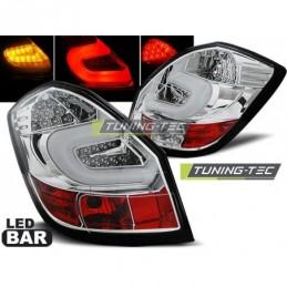 LED BAR FEUX ARRIERE CHROME fits SKODA FABIA II 07-06.14 , Fabia II 07-15
