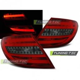 LED BAR FEUX ARRIERE RED SMOKE fits MERCEDES C-KLASA W204 SEDAN 07-10, Classe C W204