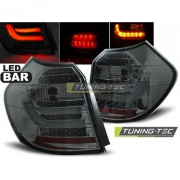 LED BAR FEUX ARRIERE SMOKE fits BMW E87/E81 09.07-11 LCI, Serie 1 E81/E87