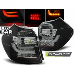 LED BAR FEUX ARRIERE BLACK fits BMW E87/E81 09.07-11 LCI BLACK, Serie 1 E81/E87
