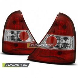 RENAULT CLIO II 09.98-05.01 RED WHITE, Clio II 98-05