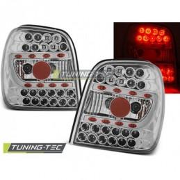 LED FEUX ARRIERE CHROME fits VW POLO 6N 10.94-09.99, Polo III 6N/6N2 94-01