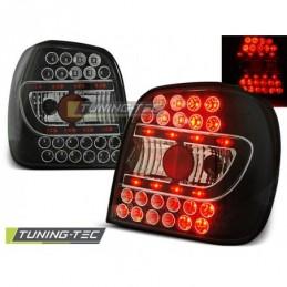 LED FEUX ARRIERE BLACK fits VW POLO 6N 10.94-09.99, Polo III 6N/6N2 94-01