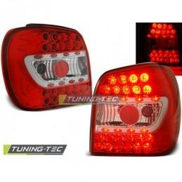 LED FEUX ARRIERE RED WHITE fits VW POLO 6N 10.94-09.99, Polo III 6N/6N2 94-01