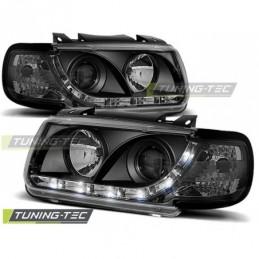 PHARES AVANTS DAYLIGHT BLACK fits VW POLO 6N 10.94-09.99 HATCHBACK, Polo III 6N/6N2 94-01