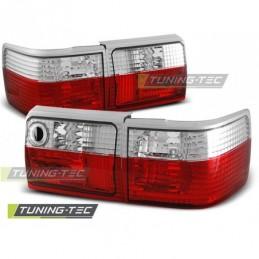 FEUX ARRIERE RED WHITE fits AUDI 80 B3 09.86-11.91 / B4 AVANT 09.1991-04.1996, 80