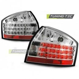 LED FEUX ARRIERE CHROME fits AUDI A4 10.00-10.04, A4 B6 00-05