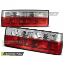 FEUX ARRIERE RED WHITE fits BMW E30 11.82-08.87, Serie 3 E30