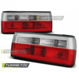 FEUX ARRIERE RED WHITE fits BMW E30 09.87-10.90, Serie 3 E30