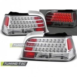 LED FEUX ARRIERE CHROME fits BMW E36 12.90-08.99 COUPE, Serie 3 E36 Coupé/Cab