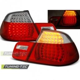 LED FEUX ARRIERE RED WHITE fits BMW E46 04.99-03.03 CABRIO, Serie 3 E46 Coupé/Cab