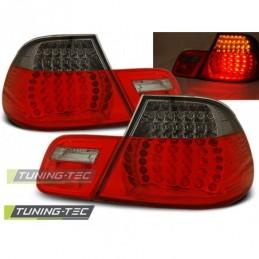 LED FEUX ARRIERE RED SMOKE fits BMW E46 04.99-03.03 CABRIO, Serie 3 E46 Coupé/Cab