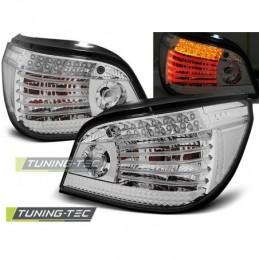 LED FEUX ARRIERE CHROME fits BMW E60 07.03-07, Serie 5 E60/61