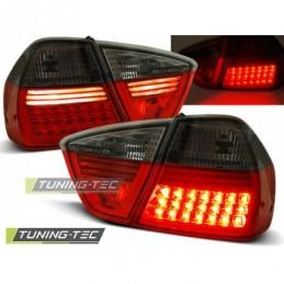 LED FEUX ARRIERE RED SMOKE fits BMW E90 03.05-08.08, Serie 3 E90/E91