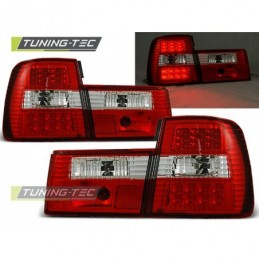 LED FEUX ARRIERE RED WHITE fits BMW E34 02.88-12.95 SEDAN, Serie 5 E34