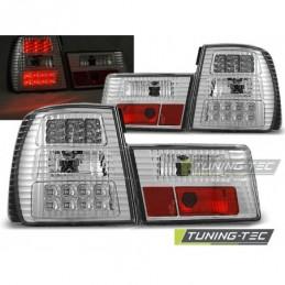 LED FEUX ARRIERE CHROME fits BMW E34 02.88-12.95 SEDAN, Serie 5 E34