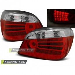 LED FEUX ARRIERE RED WHITE fits BMW E60 07.03-07, Serie 5 E60/61