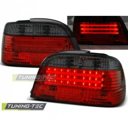 LED BAR FEUX ARRIERE RED SMOKE fits BMW E38 06.94-07.01, Serie 7 E38