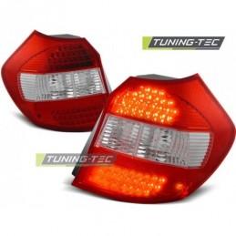LED FEUX ARRIERE RED WHITE fits BMW E87/E81 04-08.07, Serie 1 E81/E87