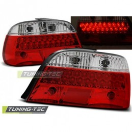 LED FEUX ARRIERE RED WHITE fits BMW E38 06.94-07.01, Serie 7 E38