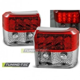 LED FEUX ARRIERE RED WHITE fits VW T4 90-03.03, T4