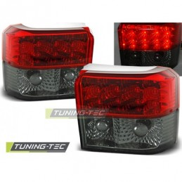 LED FEUX ARRIERE RED SMOKE fits VW T4 90-03.03, T4