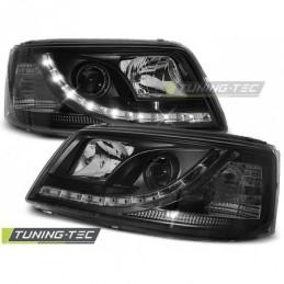 PHARES AVANTS DAYLIGHT BLACK fits VW T5 04.03-08.09, T5