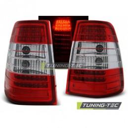 LED FEUX ARRIERE RED WHITE fits MERCEDES W124 E-KLASA KOMBI 09.85-95, Classe E W124
