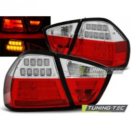 LED BAR FEUX ARRIERE RED WHIE fits BMW E90 03.05-08.08, Serie 3 E90/E91