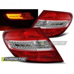 LED FEUX ARRIERE RED WHITE fits MERCEDES C-KLASA W204 SEDAN 07-10, Classe C W204