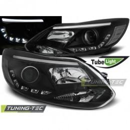 FORD FOCUS MK3 11- 10.14  TUBE LIGHTS BLACK, Focus III 2010+