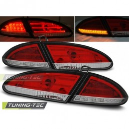 LED FEUX ARRIERE RED WHITE fits SEAT LEON 06.05-09, Leon II 05-12