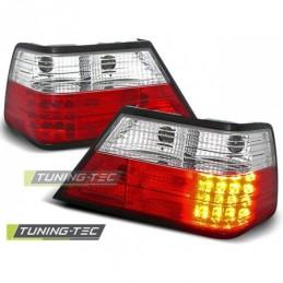 LED FEUX ARRIERE RED WHITE fits MERCEDES W124 E-KLASA 01.85-06.95, Classe E W124
