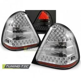 LED FEUX ARRIERE CHROME fits MERCEDES W202 C-KLASA 06.93-06.00, Classe C W202