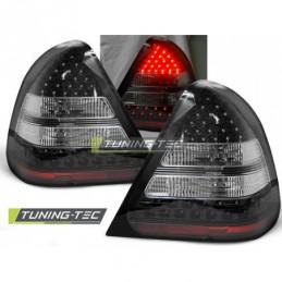 LED FEUX ARRIERE BLACK fits MERCEDES W202 C-KLASA 06.93-06.00, Classe C W202